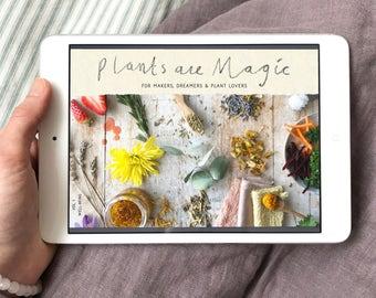 Digital Magazine - Plants Are Magic - Botanical Creativity / eMagazine / eBook / PDF