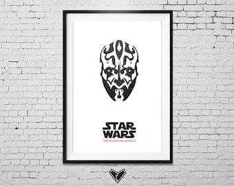STAR WARS: The Phantom Menace - Movie Poster Print