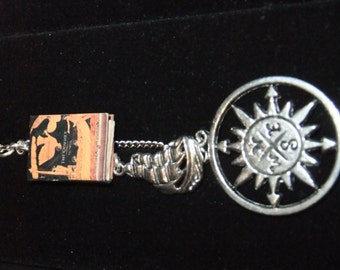 The Odyssey Book Keychain - Great Gift for Book Lovers!