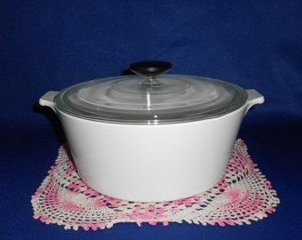 Corning Ware All White Buffet Server
