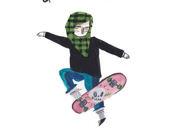 Girls No Comply Postcard