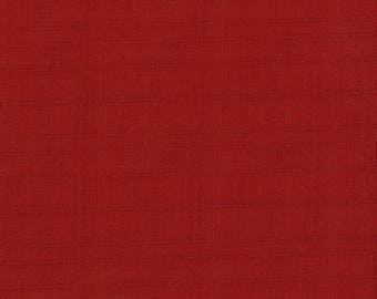 Red Dobby Weave Solid from Kobayashi of Japan Cotton Quilting and Apparel Fabric by the Half Yard KC-8260-B