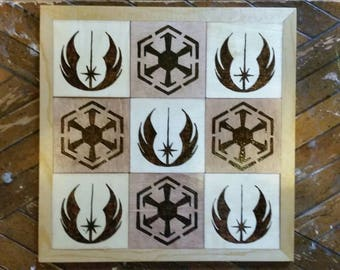 Tic Tac Toe/ Star Wars Tic Tac Toe/Game Set