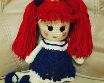 Ragdoll, Amigurumi Doll old fashioned doll