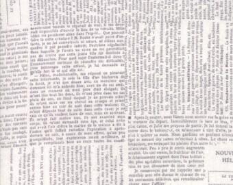 Compositions Fog Newsprint Yardage SKU# 30451-14 Compositions by BasicGrey for Moda Fabrics