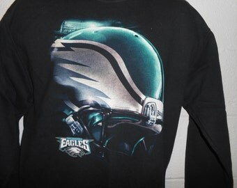 Vintage 90s Big Logo Philadelphia Eagles Sweatshirt Medium