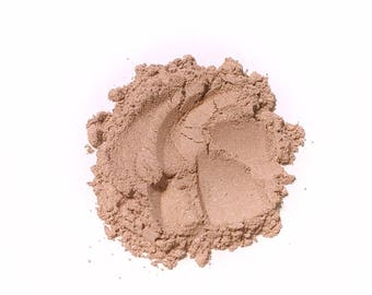 ROSE BEIGE Soft Shimmer Mineral Foundation - Natural Mineral Makeup Vegan Gluten free