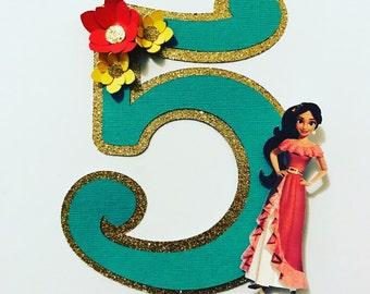 Elena of Avalor cake topper/ centerpiece