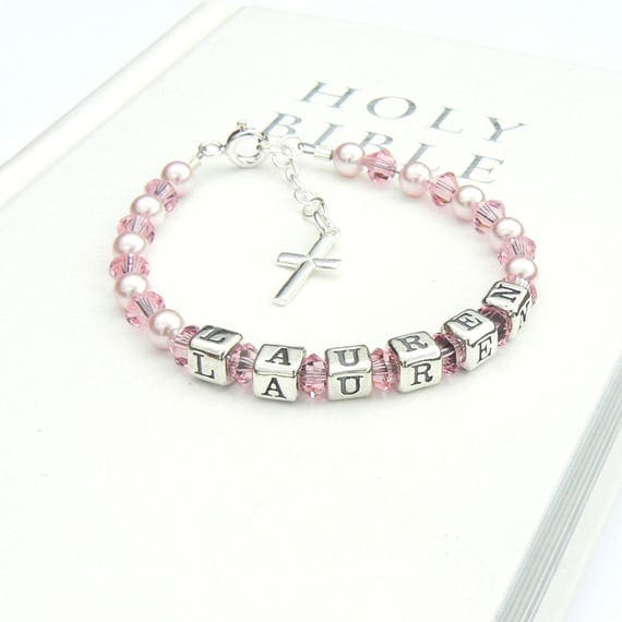 christening bracelet for girls