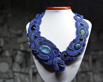 Halifax  - soutache necklace