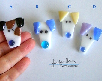 PLAYFUL PUPPY! 20 to choose from -- HAMinal brooch for dog lovers puppy pup dawg pet