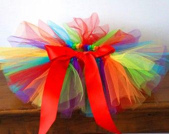Baby Tutu - Rainbow Tutu - Circus Tutu - Little Tutu - Pony Tutu