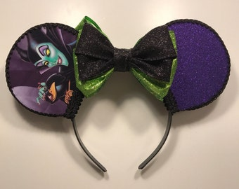 Maleficent Inspired Mouse Ears