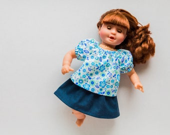 12 inch Doll Clothes - 13 inch Doll Clothes -  Corolle Doll Clothes, Waldorf Doll Clothes, Melissa and Doug Doll Clothes, Baby Doll Clothes