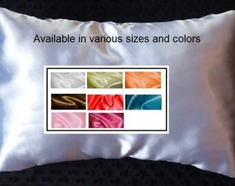 Satin Toddler Pillowcase Travel Pillow Cover