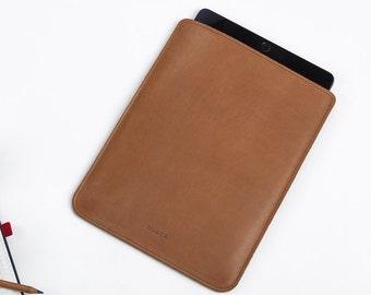 iPad Leather Case - iPad Air Cover - iPad Leather Sleeve - iPad Air 2