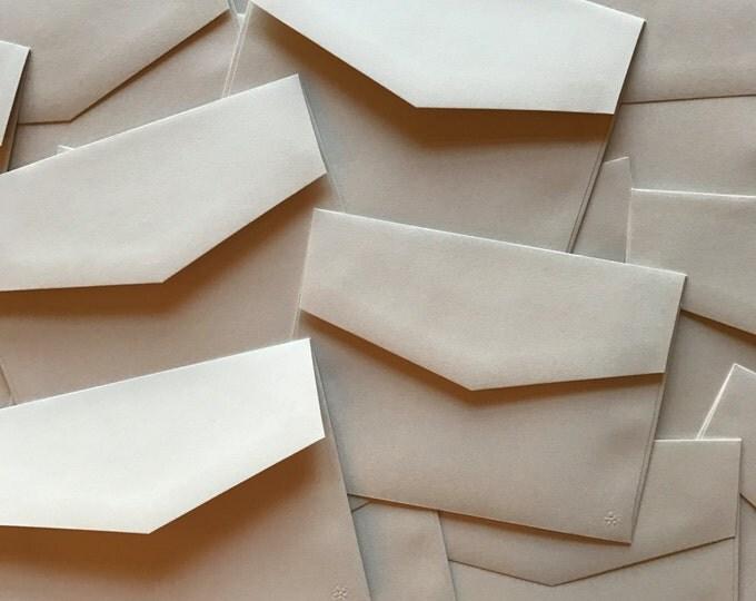 5x7 Smooth Off White Beige A7 Wedding Invitation Envelopes