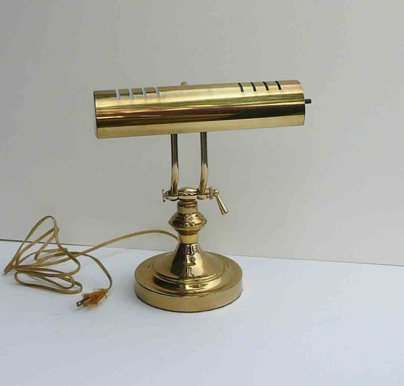 Like this item? - Vintage Brass Desk Lamp Adjustable Arm Extend Table Light