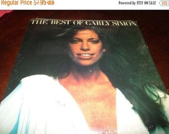 Save 30% Today Vintage 1975 Vinyl LP Record The Best of Carly Simon Excellent Condition Elektra Records 5332