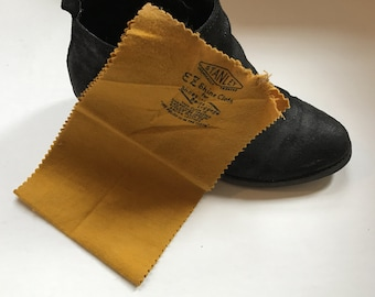 Vintage Stanley EZ Shine Cloth for Shoes, Belts, and Luggage