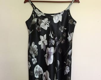 90s Slip Silky Dress