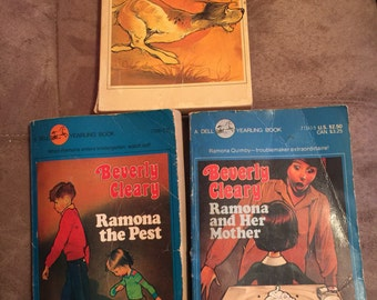 1980's Beverly Cleary Books - Set of 3