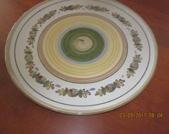 Louisville Platter Acorn Motif