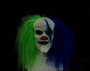 Kranky Clown Mask Grn/blu
