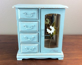 Jewelry Box, Jewelry Armoire, Gift For Her