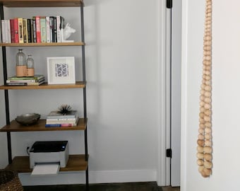 6 Ft. Decorative Wooden Bead Garland