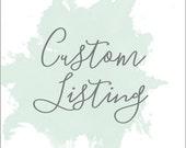 Custom Listing for Pam Juris