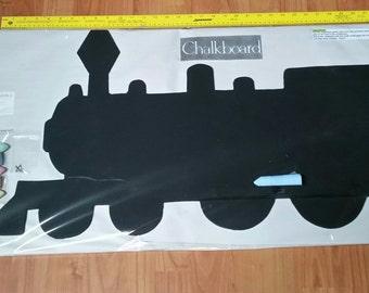 Train Shaped Chalkboard