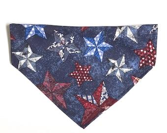 Navy & Stars Bandana