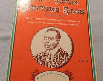 Scott Joplin Ragtime Rage Book Two Sheet Music