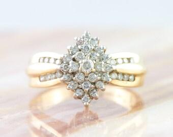 Vintage Diamond Dinner Ring