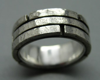 Wall - ring 925 Silver,