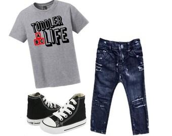 Toddler life tshirt, Toddler life, Funny toddler tshirt, Toddler shirts, Gift for kids, Toddler boy shirt, Toddler girl shirt, Kids tshirts
