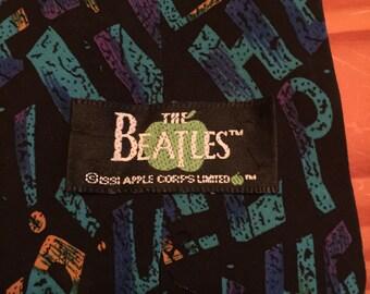 Help Beatles Silk Neck Tie