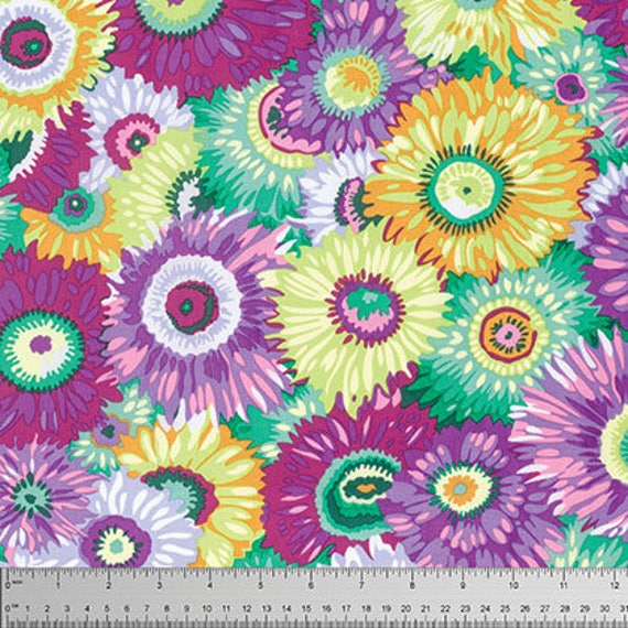 ZANY Soft Philip Jacobs for Kaffe Fassett Collective Sold in 1/2 yd increments
