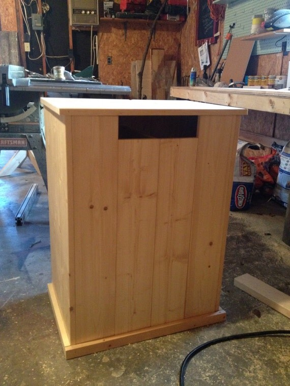Wooden Laundry Hamper Woodworking Plans