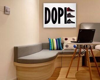 Sneaker Painting (40x30), Dope Jordans, Sneaker Art, Air Jordans, Jordan Art