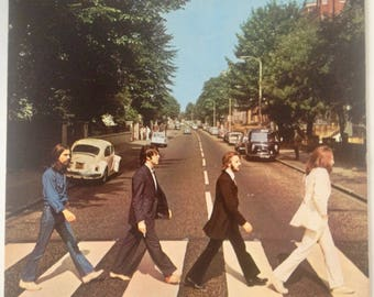 The Beatles - Abbey Road LP Vinyl Record Album, Capitol Records - SO-383, Rock, 1976