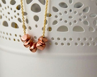 Little Nuggets Necklace - Geometric
