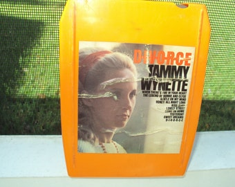 Tammy Wynette 8 track tape