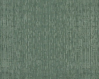 Light Green Two Toned Cross Stitch Metallic Sheen Upholstery Fabric By The Yard | Pattern # A0102G