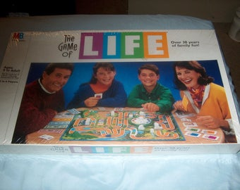Vintage Sealed Game, The Game of life, Milton Bradley, 1991, WAS 25.00 - 25% = 18.75