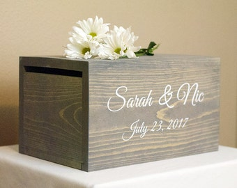 Wedding Card holder, Wedding Money Box, rustic card box, rustic wedding decor, wedding card box, wedding box, card holder, card box