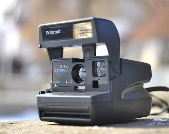 Polaroid Close up 636, Made in UK, Polaroid Camera, Vintage Camera, Retro Camera,  Collectibles .