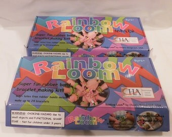 Craft Kit Rainbow Loom Rubber Band Bracelet Making Kit and More - Two Mixed Sets Allows Gives You What You Need To Do Advance Jewelry