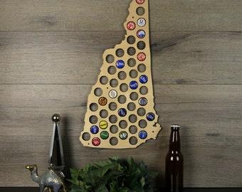 Ohio beer cap map beer cap holder beer cap state map cap for New hampshire craft beer